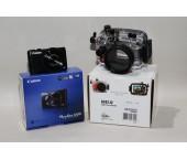 Kit Custodia Ikelite 6242.12 + Canon Powershot S120  USATO GARANTITO