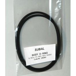 Subal O-rings per custodia Subal ND3