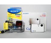 Kit Custodia Sony MPK-THB + Fotocamera Sony DSC-T33 Cyber-shot