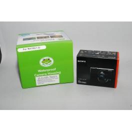 Seafrogs Meikon Kit custodia subacquea per Sony DSC-RX100 (1-5) + Fotocamera Sony DSC-RX100 M3