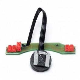 Subal PCB circuito per  connessione elettrica  flash per custodie Subal per fotocamere  Nikon