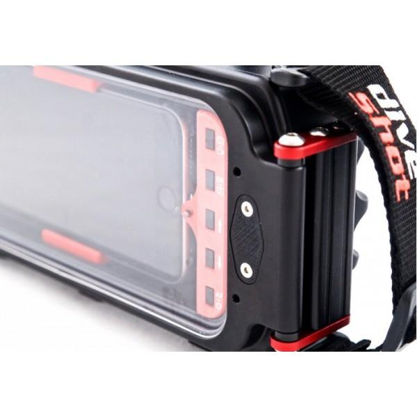 foto ufficiali 31ce1 8c3f3 CarbonArm DiveShot custodia impermeabile 60m per smartphone