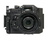 Recsea WHC-G5X custodia Sub underwarvater Housing in Alluminio per Canon Powershot G5 X
