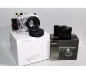 Meikon Custodia subacquea Sony DSC-RX100 II 40m/130ft + fotocamera Sony RX100 II