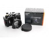 Meikon custodia per RX100 IV/ RX100 V + fotocamera  Sony RX100 V