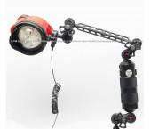 Kit Inon D-200 Strobe & Inon Float Arm M con Accessori Flex-Arm