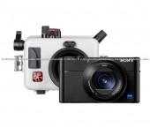 Kit Ikelite Custodia per Sony Cyber-shot RX100 Mark III, IV, V, V(A) + Sony RX100 Mark V