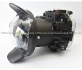 Seafrogs Custodia subacquea per fotocamera Canon EOS R 40m/130ft + Seafrogs 150mm Dome Port WA-1 ( WA005-A )