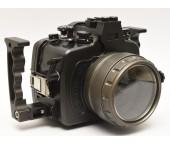 Custodia Alluminio Patima per Canon 650 e 700D con Oblò per 18-55