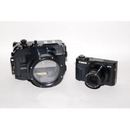 KIT Recsea CWC-G7XII per  Canon G7X Mark II + fotocamera