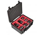 Explorer Cases 4419 BPH Valigia antiurto e impermeabile con Divisori - Nera