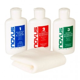Ikelite Novus Polish per lucidare oblò in acrilico (bottiglie da 59ml)