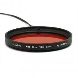 Seafrogs filtro rosso subacqueo filettato 67mm KitDive Red