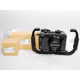 Full Kit Inon X-2 Housing for Panasonic GX9 + 2 impugnature e GX standard Port M67