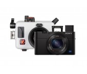 Kit Ikelite Custodia per Sony Cyber-shot RX100 Mark III, IV, V, V(A) + Sony RX100 Mark III