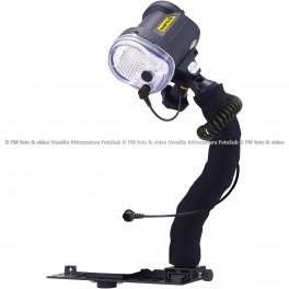 Sea&Sea 03126 Kit Flash YS-03 Solis con Braccio Flex Staffa e Optic Fiber