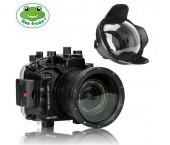 "Seafrogs Custodia Sub per Sony A7R III / A7 III (16-35mm) + Dome Port 6"" (WA-005 F)"