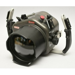 Sealux CD300 Custodia subacquea in alluminio per Nikon D300 + Oblò grandangolare