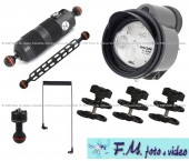 Kit Inon Z-330 Strobe & Inon Float Arm M con Accessori Flex-Arm