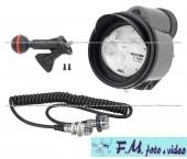 Flash subacqueo Inon Z-330 + Sea&sea Cavo syncro 5-Pin + INON Z Adapter MV